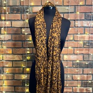 Cheetah Animal Print Fashion Scarf Light Pretty